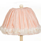 Glenna Jean Contessa Pink Crinkle Lamp Shade