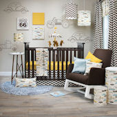 Glenna Jean Traffic Jam Crib Set