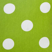 Glenna Jean Ellie And Stretch Green Dot Fabric
