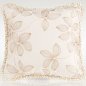 Glenna Jean Florence Floral Embroidery Pillow
