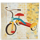 Glenna Jean Jetson Canvas Tricycle Wall Hanging