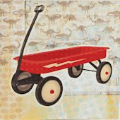 Glenna Jean Jetson Canvas Wagon Wall Hanging