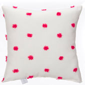 Glenna Jean Lill And Flo Pink Dot Pillow