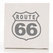 Glenna Jean Uptwon Traffic Rte 66 Wall Hanging