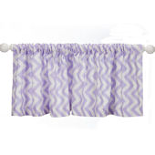 Glenna Jean Swizzle Pruple Window Valance