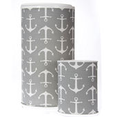 Glenna Jean Fish Tales Wastebasket Hamper Can Set