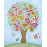 Butterfly Tree Wall Art