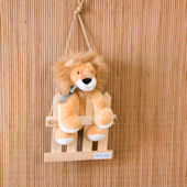 Glenna Jean Tanzania Lion on Fence Wall Hanging