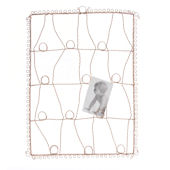 Isabella Memory Board Antique Wire Pink