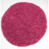 Ellie and Stitch  Round Raspberry  Rug