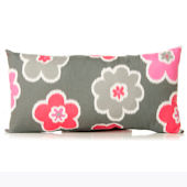 Glenna Jean Addison Rectangle Floral Pillow