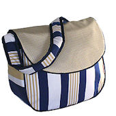 Rugby Messenger Diaper Bag