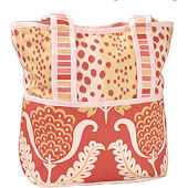 Tulips Tote Diaper Bag
