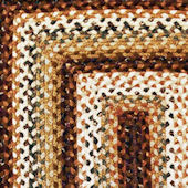 Home Spice Rocky Road Cotton Braided Rug