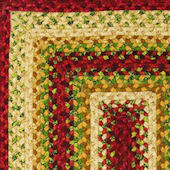 Home Spice Santa Fe Cotton Braided Rug
