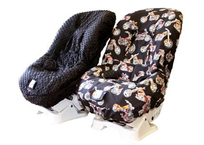 itzy ritzy rebel chopper car seat cover the frog and the princess. Black Bedroom Furniture Sets. Home Design Ideas