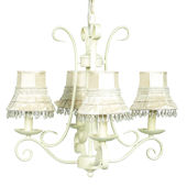 Rooster 4-light Iron Chandelier | Overstock.com