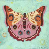 Aqua Peace Butterfly Wall Art