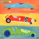 Vroom Vroom Race Cars Wall Art