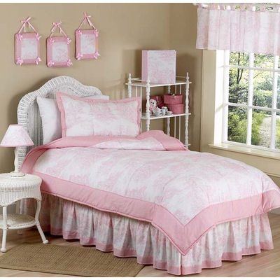 French Bedding Full on Jojo Pink Tolie Bedding   The Frog And The Princess
