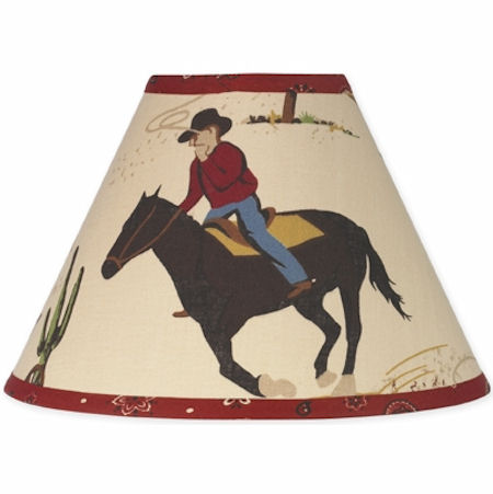 Jojo Wild West Cowboy  Lamp Shade