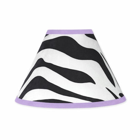 Jojo Zebra Purple  Lamp Shade