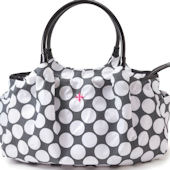 JP Lizzy Allure Polka Dot Satchel