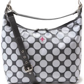 JP Lizzy Glazed Polka Dot Hobo