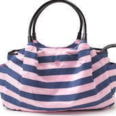 JP Lizzy Allure Stripe Satchel