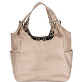 Sand Stone Satchel Diaper Bag