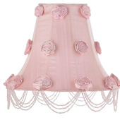 Jubilee Rose Swag Pink Large Shade