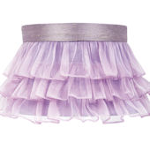 Jubilee Ruffled Skirt Lavender Large Shade