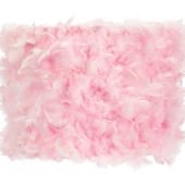 Jubilee Pink Feather Drum Large Shade