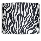 Jubilee Zebra Drum Extra Large Shade
