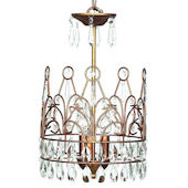 Jubilee Gold Crown Chandelier