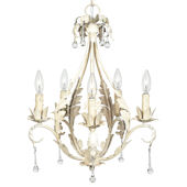 Jubilee Caesar Chandelier Antique Ivory