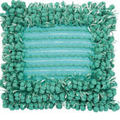 Funberry Pillow Square Turquoise