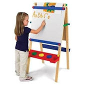 Kid Kraft Art Easel with Paper