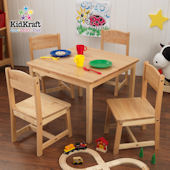 Kid Kraft Farmhouse Table and 4 Chairs