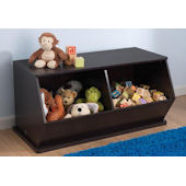 Kid Kraft Double Storage Unit Espresso