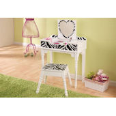 Kid Kraft Fun And Funky Vanity And Stool
