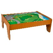 Honey Wooden Train Table