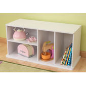 Kid Kraft White Storage Unit With Shelves
