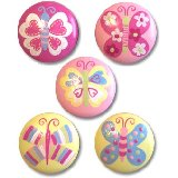 Beautiful Color Butterflies Drawer  Knobs