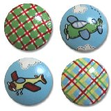 Boys Airplane Drawer Knobs