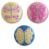 Cool Butterflies Drawer  Knobs