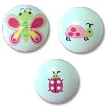 Happy Bugs Drawer  Knobs