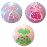 Little Dresses Drawer Knobs