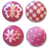 Pink Fun Drawer  Knobs