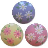Simple Pastel Daisies Drawer Knobs